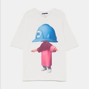 Limited Edition Monsters Inc ZARA Graphic Tee